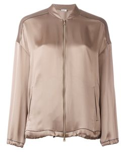 Brunello Cucinelli | Zipped Bomber Jacket