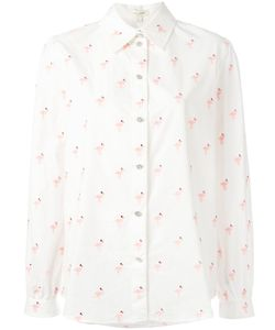 Marc Jacobs | Flamingo Print Shirt 8 Cotton