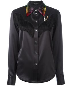 Marc Jacobs | Embellished Western Shirt 6 Silk