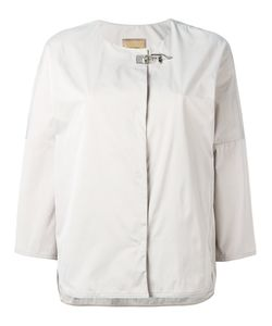 Fay | Stylised Buckle Jacket Large Polyester