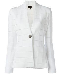 Giorgio Armani | Checked Blazer 46 Polyamide/Polyester/Spandex/Elastane/Viscose