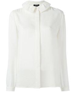 A.P.C. | A.P.C. Frill Collar Shirt Size 36