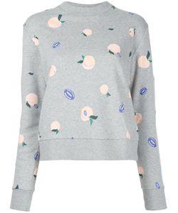 ÊTRE CÉCILE   Peaches Print Sweatshirt