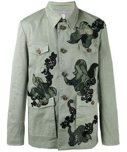 Antonio Marras | Patched Buttoned Coat 52 Cotton/Spandex/Elastane