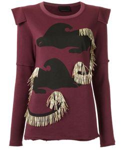 Andrea Bogosian | Embellished Sweatshirt Size P