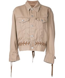 G.V.G.V. | Denim Lace-Up Jacket 34 Cotton