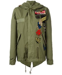 MR & MRS Italy | Multipatch Parka Xs Cotton/Wool/Polyester/Cotton