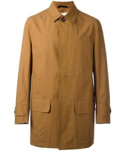 Oliver Spencer | Lawford Patch Pockets Coat 52 Cotton