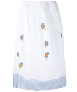 Jupe By Jackie | Embroidery Skirt Size Small Cotton