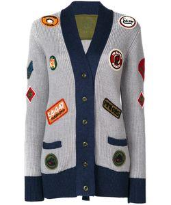 MR & MRS Italy | Трикотажное Пальто С Нашивками