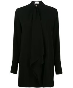 Sonia Rykiel | Long Pussy Bow Blouse 46 Polyester/Triacetate