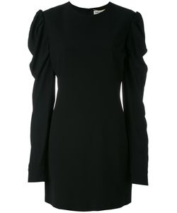 Saint Laurent | Ruffled Sleeve Dress