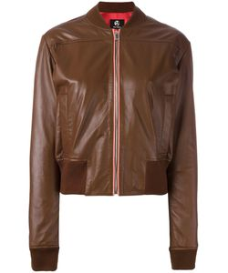 PS PAUL SMITH | Ps By Paul Smith Sorbet Leather Bomber Jacket 42