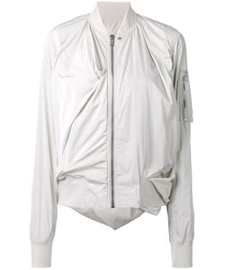 Rick Owens | Swoop Bomber Jacket 42 Polyester/Cupro/Cotton