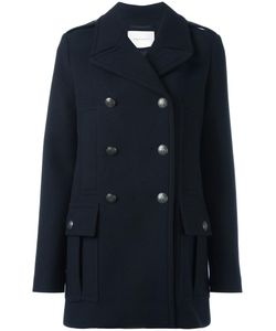 Pierre Balmain | Double Breasted Coat 38 Viscose/Acrylic/Polyester/Other Fibers