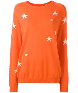 Chinti And Parker | Star Intarsia Jumper Small Cashmere