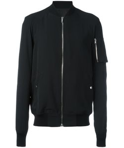 Rick Owens | Classic Bomber Jacket 54 Viscose/Virgin Wool/Cotton