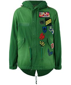 MR & MRS Italy | -Patch Hooded Jacket Small
