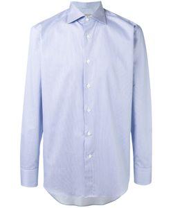 Canali | Полосатая Рубашка Стандартного Кроя
