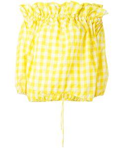 Marques Almeida | Marquesalmeida Off Shoulder Blouse Small Polyester/Polyimide