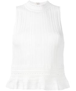 3.1 Phillip Lim | Sleeveless Knitted Peplum Top Size Medium