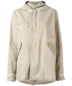 MR & MRS Italy   Zipped Hooded Coat Size Medium