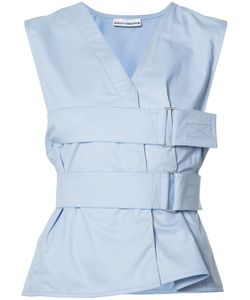Paco Rabanne   Belted Top 36 Cotton