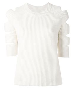 ZOE JORDAN | Nobel Cold Shoulder Sweater Size Xs