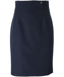 Versace Collection | Pencil Skirt 40 Polyester/Spandex/Elastane