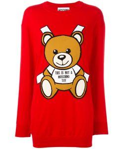 Moschino | Knitted Teddy Bear Dress Size Medium