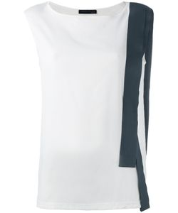 Fabiana Filippi   Contrast Stripe Blouse Size 42