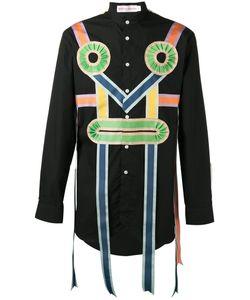 WALTER VAN BEIRENDONCK VINTAGE | Walter Van Beirendonck Ribbon Applique Shirt Size Large