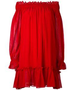 Alexander McQueen | Свободное Платье С Открытыми Плечами