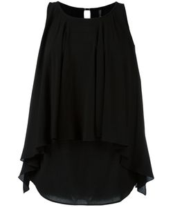Plein Sud Jeanius | Pleated Layered Blouse 44