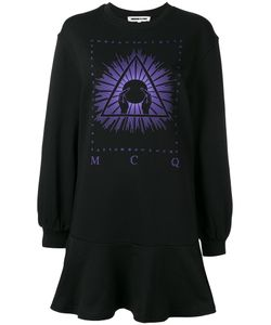 Mcq Alexander Mcqueen | Peplum Sweat Dress Medium Cotton