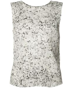 PLEATS PLEASE BY ISSEY MIYAKE   Pleated Texture Tank