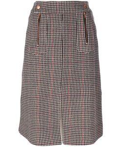 See By Chloe | Herringbone Pencil Skirt