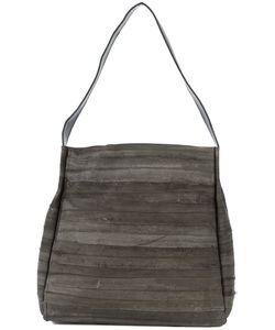 B MAY   Striped Tote Bag