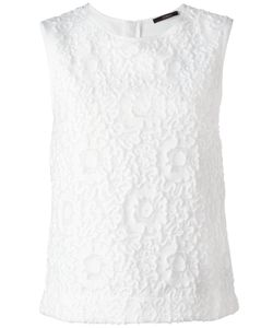 Odeeh | Lace Sleeveless Top 36 Silk/Cotton/Polyamide