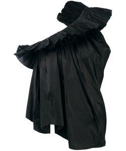 Marques Almeida | Marquesalmeida Ruffled One-Shoulder Blouse Size Small