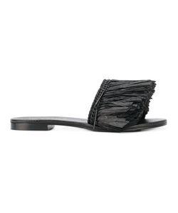 Avec Modération | Fringed Strap Sandals
