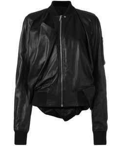 Rick Owens | Leather Bomber Jacket 42 Lamb Skin/Virgin
