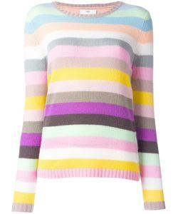 Allude | Striped Sweater Small Cashmere