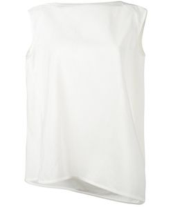 Rick Owens | Sleeveless Draped Blouse