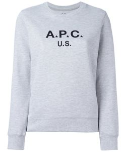 A.P.C. | Logo Print Sweatshirt Medium Cotton/Polyester
