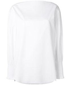 Cedric Charlier | Cédric Charlier Slash Neck Shirt 42 Cotton/Other Fibres