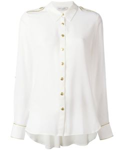 Pierre Balmain | Shoulder Straps Shirt 36 Silk
