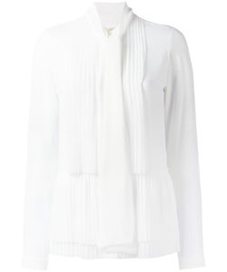 Michael Michael Kors | Pleated Shirt 10 Polyester