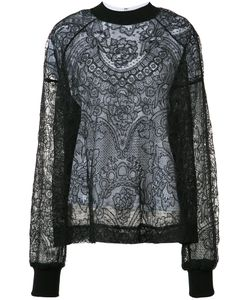 Vera Wang | Laye Lace Top 4 Cotton/Silk/Nylon