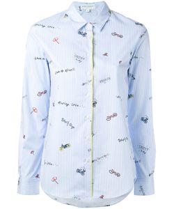 Mira Mikati | Printed Striped Shirt Size 42